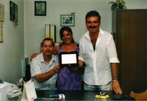 Enrico, Fabrizio e Ivana